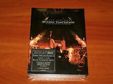 WITHIN TEMPTATION BLACK SYMPHONY 2x DVD 2x CD DELUXE LIMITED DIGIPAK EDITION New