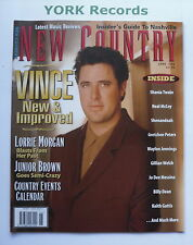 NEW COUNTRY MAGAZINE - June 1996 - Vince Gill / Lorrie Morgan / Junior Brown