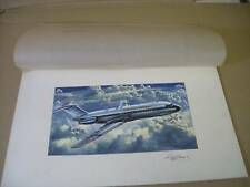 AIRFIX BRITISH UNITED BAC 111 ROY CROSS ARTWORK