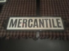 VINTAGE STYLE METAL MERCANTILE SIGN