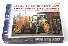 SDV 385 Traktor Zetor 50 Super mit Kabine Kunststoff Modellbausatz 1:87 H0