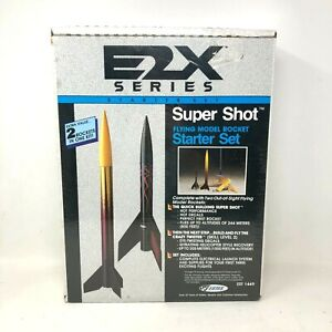 ESTES EST 1449 Super Shot Flying Rocket Model Starter Set Rockets 1999