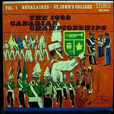 1962 Canadian Bugle Championships - Vol. 1 Royalaires - St. John's LP VG+ Vinyl