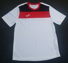 Joma Youth Large Soccer Short Sleeve White Jersey