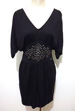 GUESS LOS ANGELES Abito Vestito Donna Viscosa Woman Rayon Dress Sz.S - 42