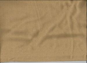 2-1/3 Yard Light Brown Wool Fabric 59 Inches WideTh