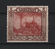 1922 Saargebiet Mi. 97  ** postfrisch