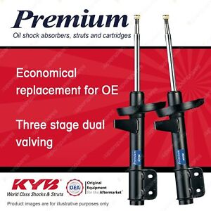 2 x Front KYB Premium Shock Absorbers for TOYOTA Dyna D4 10/2000-05/2002