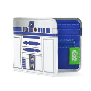 Genuine Star Wars R2-D2 Droid Bi-Fold PU Wallet Gift Boxed Retro Gift