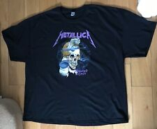 More details for metallica damaged justice  rare t shirt 4x large new