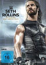 WWE Seth Rollins - Building The Architect 3x [DVD] NEU Deutsche Verkaufsversion