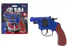 Toy Cap Gun Plastic Handgun Stub Nose 38. Secret Agent Fancy Dress Pistol Weapon
