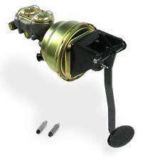 Universal Fw 8 Dual Brake Pedal kit Adj Disk/DrumLg Oval Blk Pad(Fits: More than one vehicle)