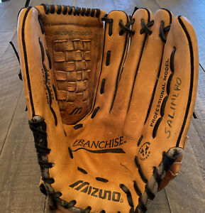 "Mizuno LHT Baseball Softball Glove GFN 1400 14"" Franchise Series Tartan Web"