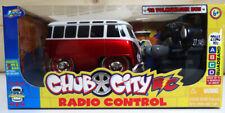 Jada 'Chub City' Volkswagen Bus Red/White Radio Controlled -New unopened