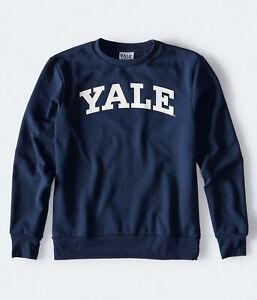aeropostale mens yale crew sweatshirt***
