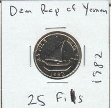 19 YEMEN PEOPLE`S DEMOCRATIC REPUBLIC 25 Fils – DHOW - UNC - Loc#3