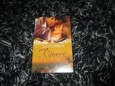 MILLS & BOON THE RINUCCI LEGACY BY LUCY GORDON 3 IN 1 LIKE NEW 2017
