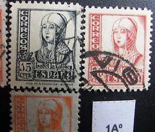 ++ 1Aº Isabel serie 814 del 1937, edf 820 823 variedad dentado 11x11'5. aprx 60€