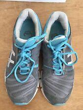 ASICS Gel Sting 33 Women's Athletic Shoe Grey Silver Turquoise US 8.5 EUR 40