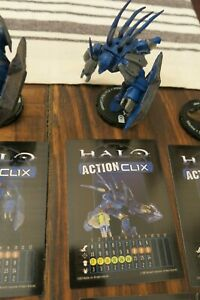 HALO ACTIONCLIX #086 HUNTER WITH FUEL ROD CANNON R WITH CARD FROM COMBAT PACK