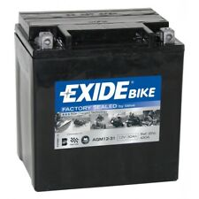 Batterie moto 53030 Y60-N24L-A Exide AGM12-31 12v 30ah 380A 165x130x175mm