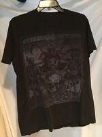 Avenged Sevenfold Tonight The World Dies Medium T Shirt, Black Metal Graphic Tee
