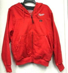 Milwaukee 302B-21S M12 Heated Hoodie Kit Small, RED, LN KIT