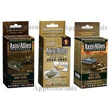 Axis & Allies Miniatures 3 Booster Packs Early War/Counteroffensive/North Africa