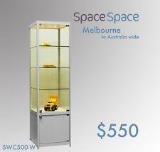 0.5m x0.5m x1.8m Glass Showcase Cabinet   / LED light