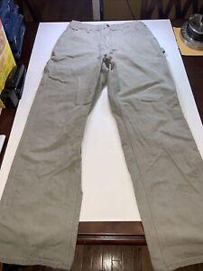 Carhartt Dungaree 33 x 34 Carpenter Pants Original Dungaree Fit