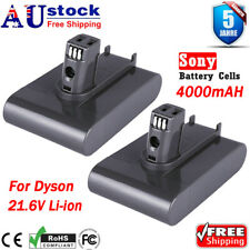 2XBattery For Dyson Vacuum Cleaner 4000mAh 22.2V DC31 DC34 DC35 DC44 DC45 Animal
