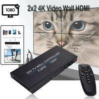 2x2 Wall HDMI Processor IP Network PoE HDTV 1080p Controller Splicing Adapter