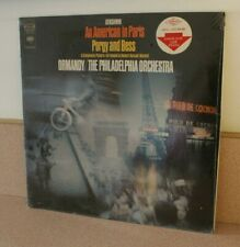 Gershwin An American in Paris Porgy & Bess Philadelphia Orch NEW SEALED vinyl LP