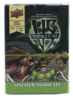 Upper Deck Vs System 2PCG X-Men Sinister Syndicate Expansion Marvel Comics UD