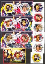 Chad 2014 Football Soccer Famous Players set of 6 + 4 S/S MNH** Privat !