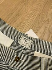 Valentino Jeans - Vintage Striped Blue & White Jeans