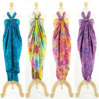 Hibiscus Collection Jumbo Batik Sarong w/ Buckle Set