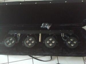 Eurolite KLS 160 Kompakt Lichtset, gebraucht im Case