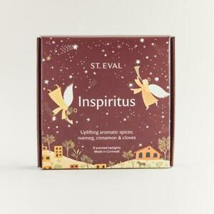 """St Eval Christmas """"Inspiritus"""" Scented Tealights TWO packs of 9. TEALIGHTS (18)"""