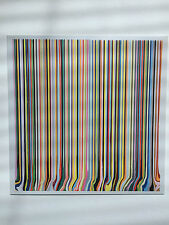 Ian Davenport, mostra invito Card, ALAN cristea Gallery, 2011