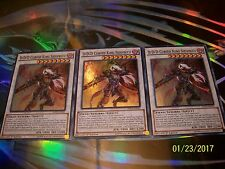3x D/D/D Cursed King Siegfried 1st Edition Super Rare SDPD-EN042 Yu-Gi-Oh!