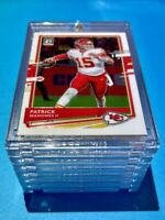 Patrick Mahomes DONRUSS OPTIC HOT NEW 2020 CHIEFS FOOTBALL CARD INVESTMENT Mint!