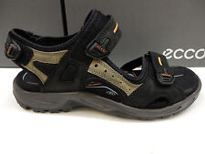 ECCO MENS SANDALS YUCATAN BLACK SIZE EU 41