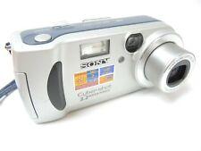 Sony Cyber-shot DSC-P71 3.2MP Digital Camera - Silver