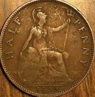 1933 UK GREAT BRITAIN HALF PENNY
