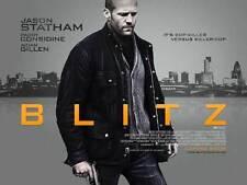 BLITZ Movie POSTER 27x40 UK Marco Bonini Edoardo Leo Sabrina Impacciatore