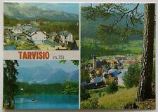 Tarvisio Italy 3 Views Postcard (P285)
