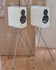 Q Acoustics Concept 300 Pair incl. Stands White/Oak
