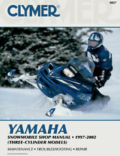 Clymer Repair Manual for Yamaha 3-Cylinder Snowmobile (1997-2002) S827 (Fits: Yamaha)
